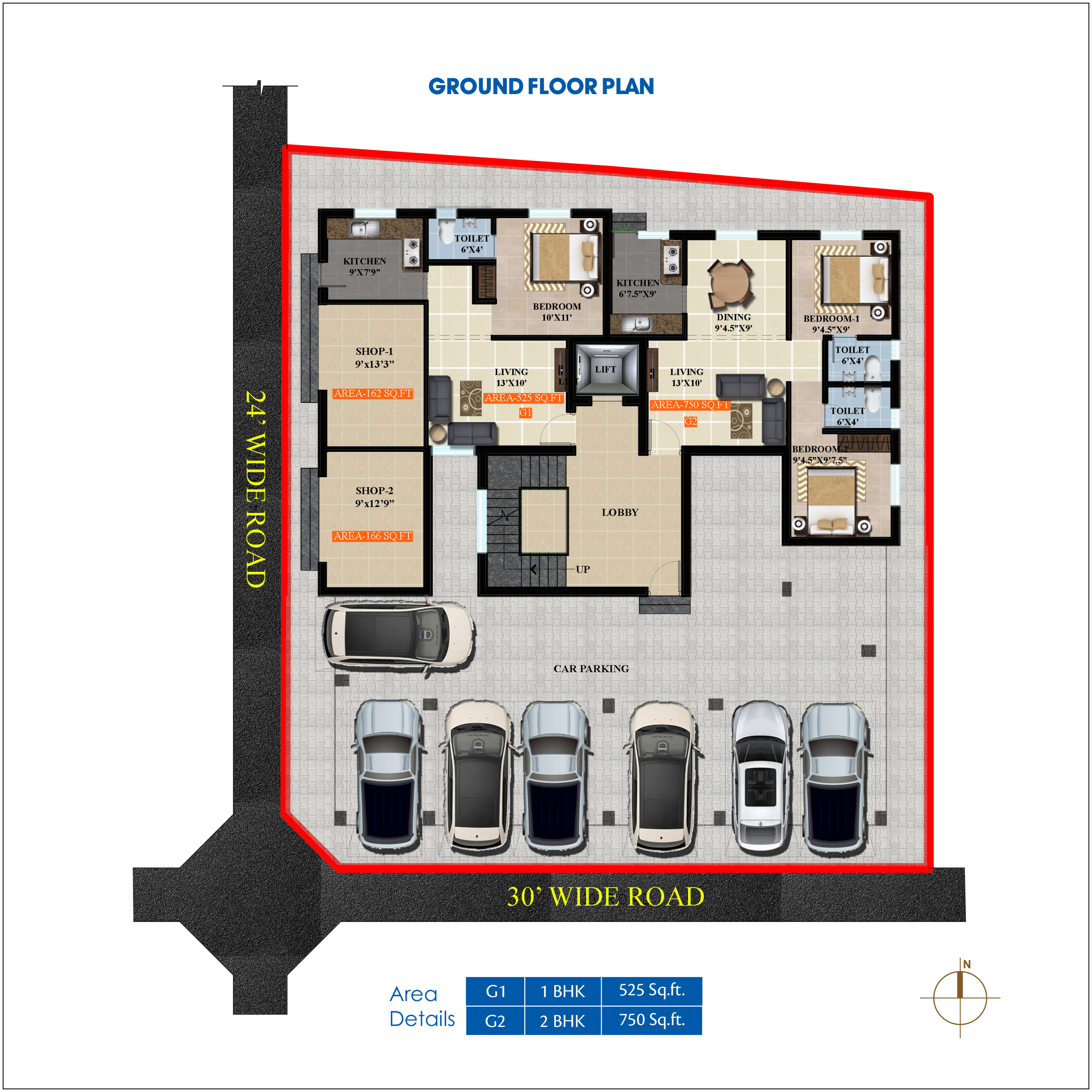 Apartment for sale in mogappair east